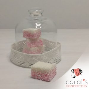 Coral's Strawberry Marshmallows