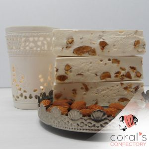 Coral's Honey and Almond Nougat